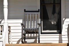 Front Porch Rocker em Texas foto de stock