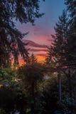 Front Porch Sunset fotos de stock royalty free