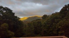 Front Porch Sunset Photo libre de droits