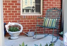 A front porch Stock Photos