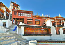 Front portion of Diskit gompa Royalty Free Stock Image