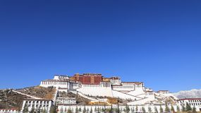 the front of Potala Place stock image