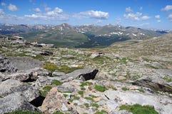 Front Range Colorado royaltyfria bilder