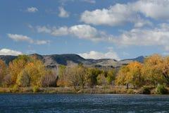 Front Range Colorado-landschap Stock Afbeelding