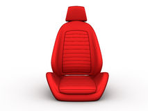 Front red car seat Royalty Free Stock Photography