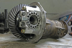 Front reduction gear Stock Photo