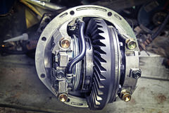 Front reduction gear Royalty Free Stock Photo