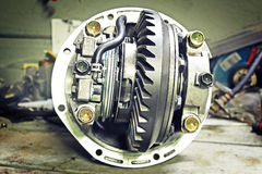 Front reduction gear Stock Images