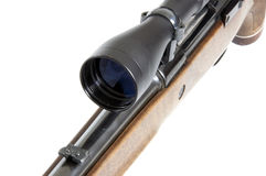 Front of a riflescope Royalty Free Stock Images