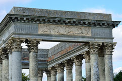 Front of Roman Folly Stock Photography