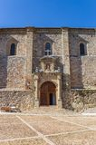Front of the San Juan Bautista church in Atienza Stock Photo