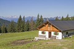 Front Scharnitzalm in Benediktenwand-Bereich Stockbilder