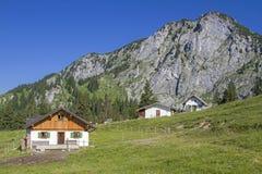 Front Scharnitzalm in Benediktenwand-Bereich Stockfotos