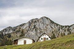 Front Scharnitzalm südlich Benediktenwand Stockfotos