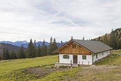 Front Scharnitzalm südlich Benediktenwand Lizenzfreie Stockbilder
