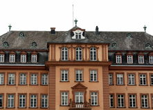Front of Schloss Berleburg .Germany Stock Image