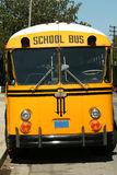 Front of School Bus Stock Image