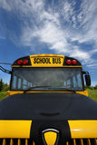 Front of School Bus Royalty Free Stock Photography