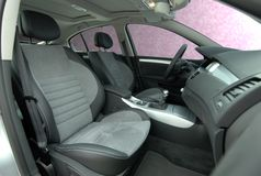 Front seats Royalty Free Stock Photo