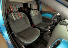 Front seats Stock Image