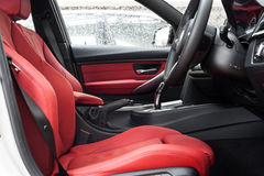 Front seats Royalty Free Stock Photos