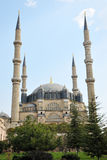 Front of Selimie mosque in Edirne Royalty Free Stock Images
