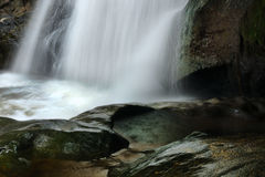 Front of Seventh Water Fall Stock Photography