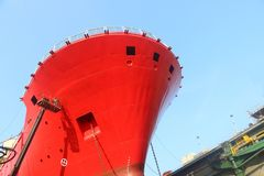 Free Front Ship On Blue Sky Stock Photo - 150803380
