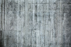 Front shot of textured concrete wall Stock Photography
