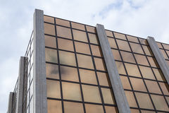 The front side of the building Stock Images