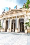 Mill Colonnade - Karlovy Vary, Czech Republic stock photos