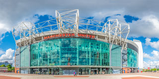 Front side of Old Trafford stadium Royalty Free Stock Photos