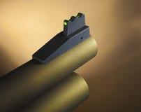 Front sight on a shotgun Royalty Free Stock Photo