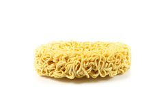 Front site instant noodle Royalty Free Stock Photos