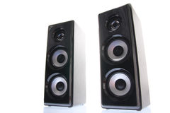 Front speakers Stock Image