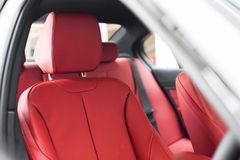 Front sports seats Stock Images