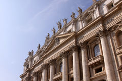 Front of St. Peter's Stock Photography