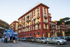 In front of the Stadium  San Paolo, Napoli Royalty Free Stock Photos