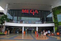 Front Store de centre commercial méga de Bangna Images libres de droits