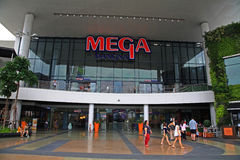 Front Store of Mega Bangna Shopping mall Royalty Free Stock Images