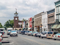 Front Street Georgetown Royalty Free Stock Images