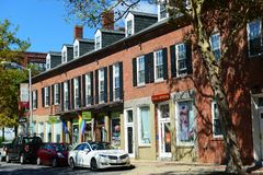 Front Street, Salem, Massachusetts Stock Photography
