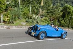 _front sul de Tirol Rallye 2016_Delahaye 135 M Le Mans Fotografia de Stock