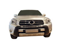 Front of SUV Stock Photo