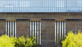 Front of the Tate Modern Gallery Stock Photography