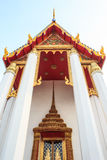 Front of Thai church Stock Image