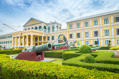 Front of Thailand Ministry of Defence building. Royalty Free Stock Image