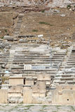 The front of the theater of Dionysus Royalty Free Stock Photo