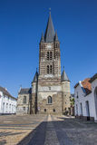 Front of the Thorn abbey in Limburg Royalty Free Stock Photo