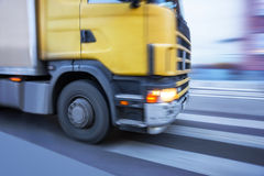 Front of truck Stock Image